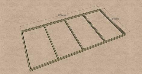 Etagenbett Lattenrost : Hochbett maße für die lattenrost auflage bauen und basteln holz