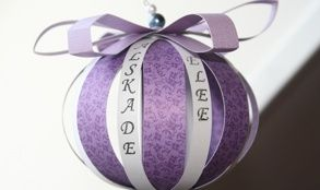 Handgjord pappersboll | Giftwrap Store