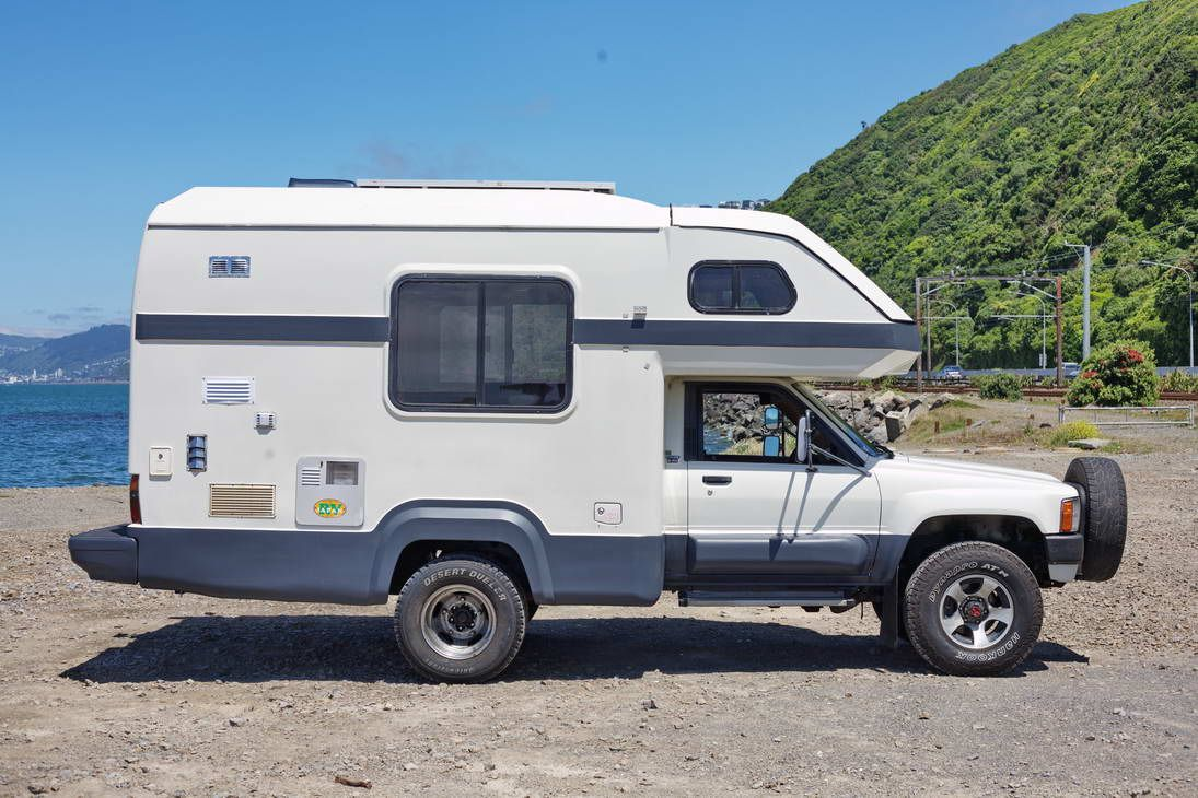 88 Toyota Hilux Global Galaxy 4x4 Camper To Try Toyota Camper