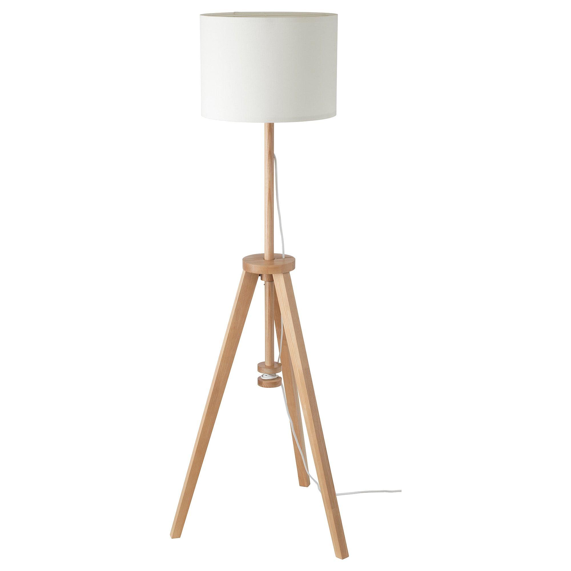 Lauters Floor Lamp Ash White Ikea Floor Lamp White Floor Lamp Tripod Floor Lamps