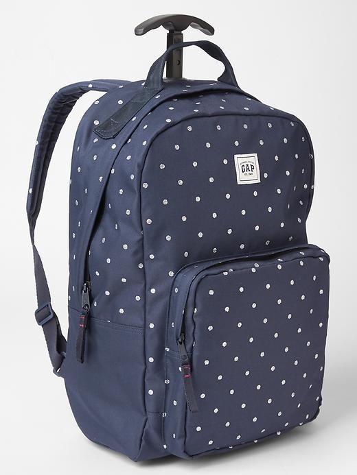 Printed roller backpack - Meet the bigger   better cool-kid ...