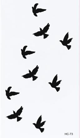 3 Birds Tattoo Bird Tattoos Clipart Best Clipart Best Bird Tattoo Wrist Fake Tattoos Tattoo Stickers