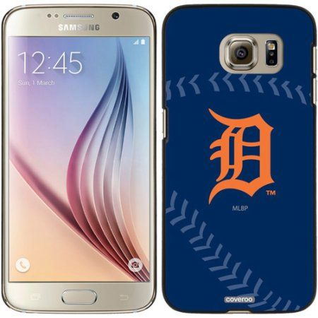 Detroit Tigers Stitch Design on Samsung Galaxy S6 Snap-on Case