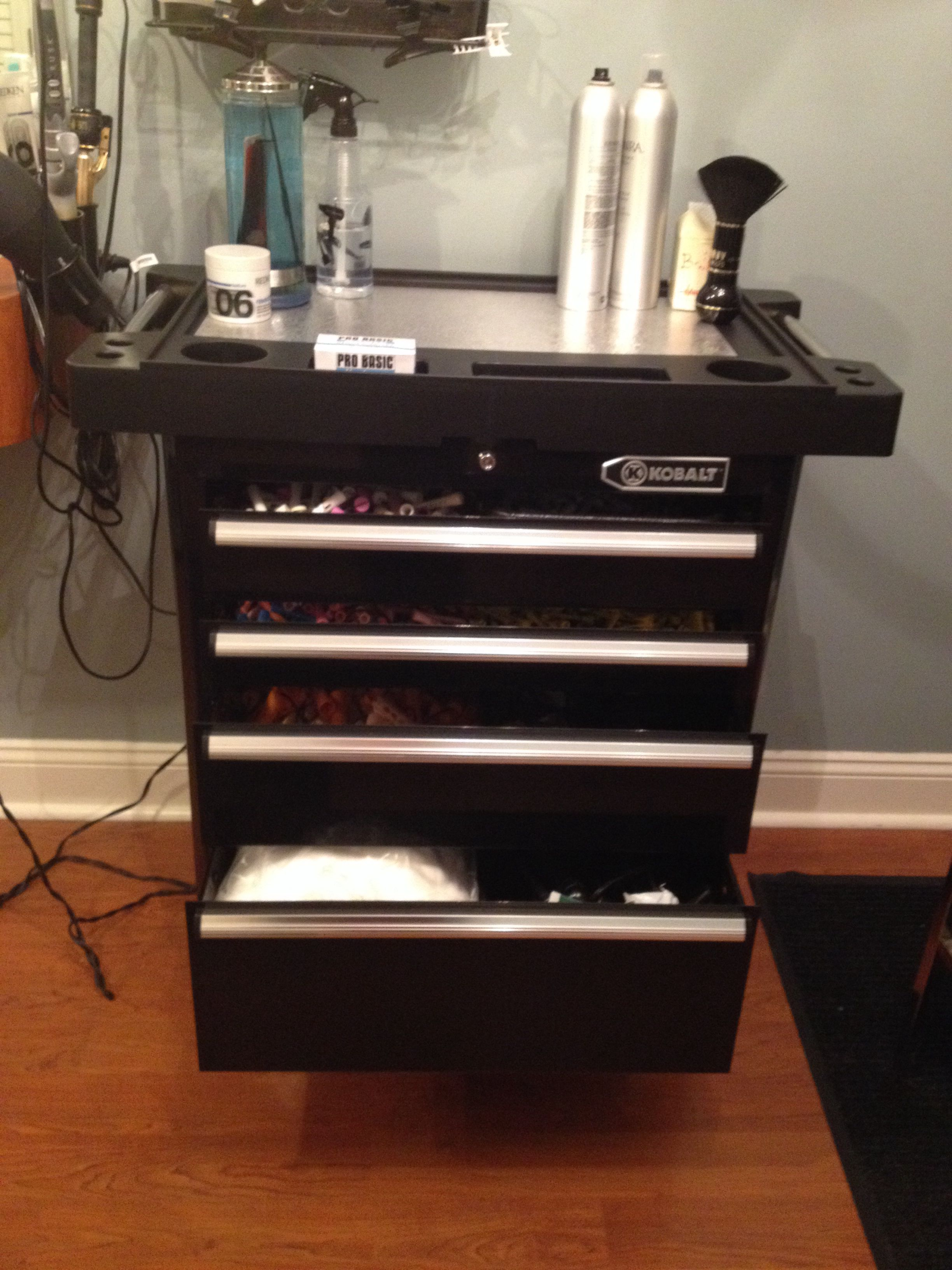 Tool chest for a Hair Trolley