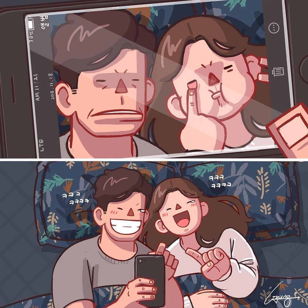 Couple Couple En Couple Amour Amoureux Love Heureux Bonheur