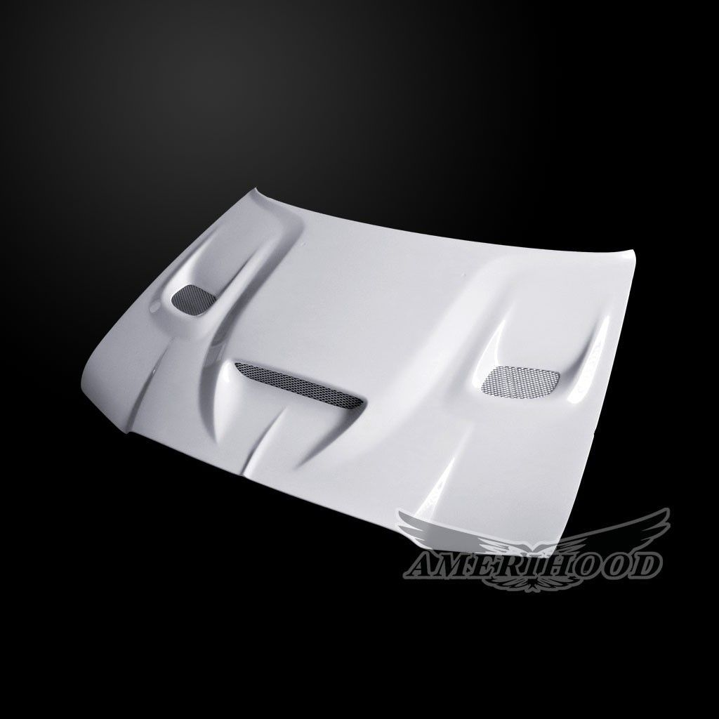 2005-2010 Chrysler 300/C Amerihood HellCat Dual-Functional Ram Air Fiberglass Hood