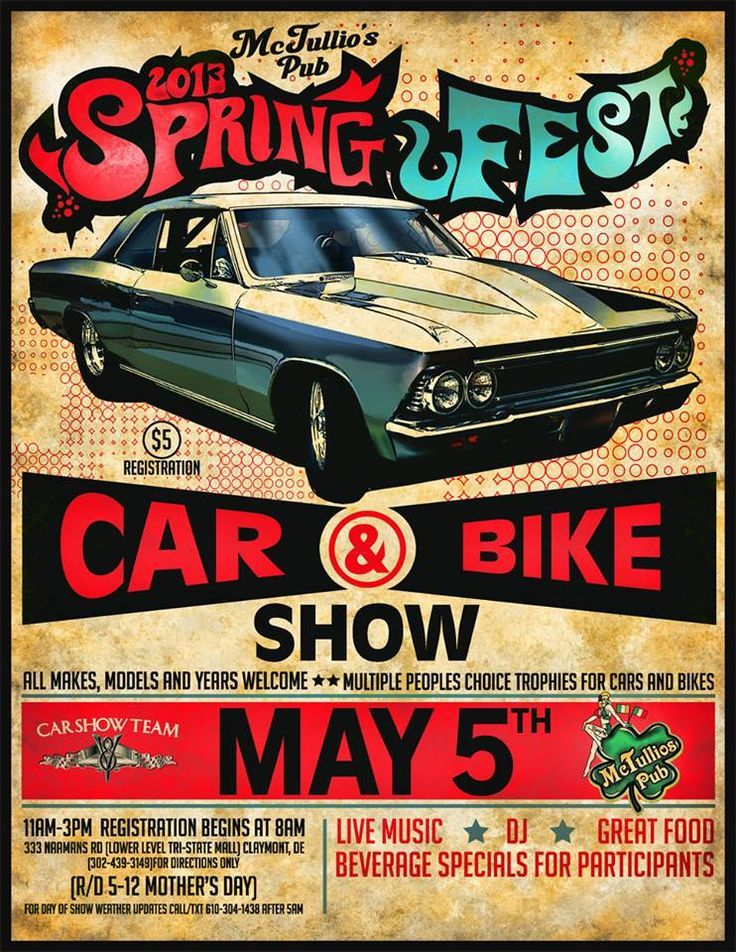 Car Show Flier By Httpyepgraphixcar Show Fliers Cars