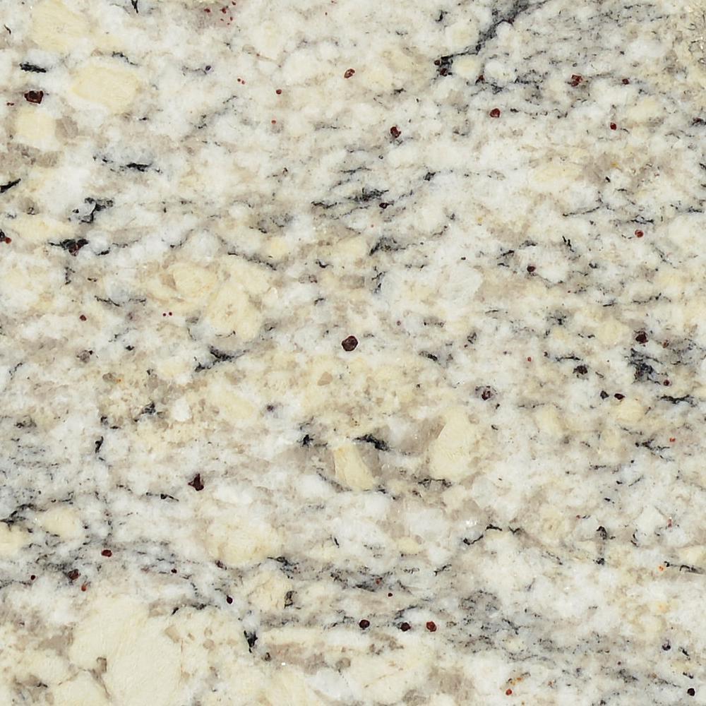 Stonemark 3 In X 3 In Granite Countertop Sample In White Ice P Rsl Whtice 3x3 The Home Depot In 2020 Granite Countertops Granite Countertops