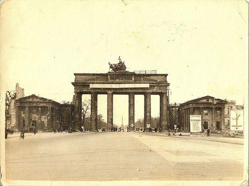 A Walk Down The Unter Den Linden 1945 Berlin Berlin Wall Germany