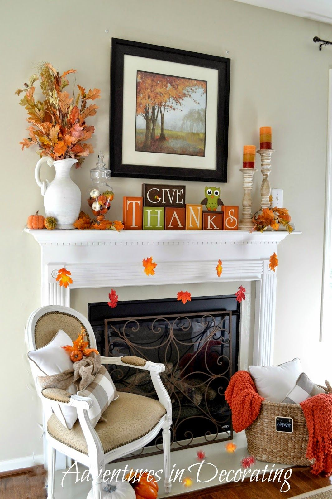 Give Thanks Adventures in Decorating Our