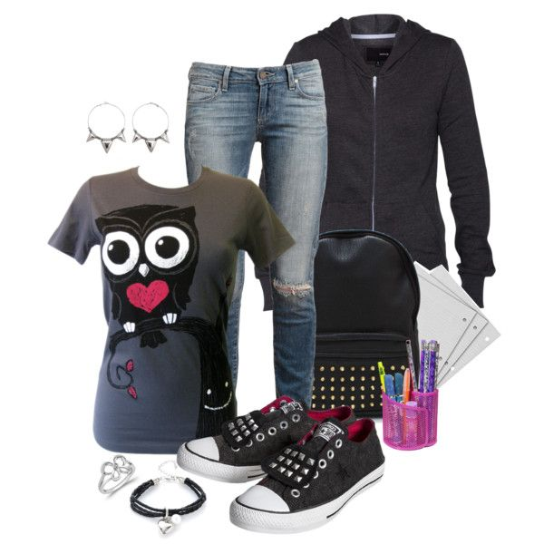 """Back to school"" by simona-risi on Polyvore"