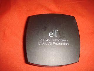 Makeup4u: Polvos SPF45 Sunscreen UVA/UVB Protection de ELF