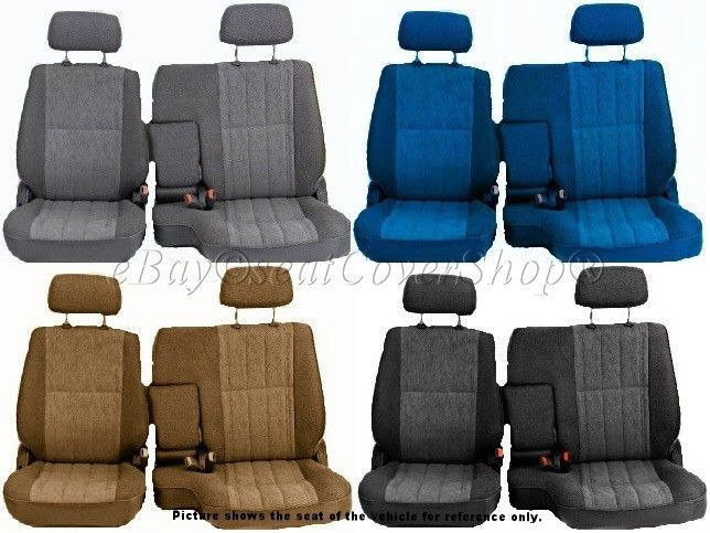 Surprising A57 10Mm Pickup 60 40 Split Bench Seat Covers Detachable Ibusinesslaw Wood Chair Design Ideas Ibusinesslaworg