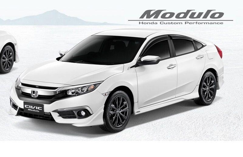 2016 Honda Civic 泰国上市,Modulo 套件同步亮相 Honda