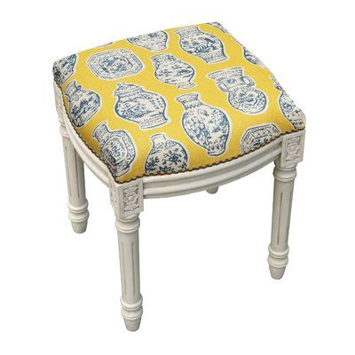 Wondrous 123 Creations Chinoiserie Porcelain Linen Upholstered Wooden Theyellowbook Wood Chair Design Ideas Theyellowbookinfo