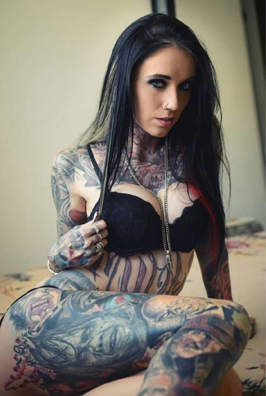 Rachelle Nicole Hoffman | Beauty and the Tattooed | Pinterest