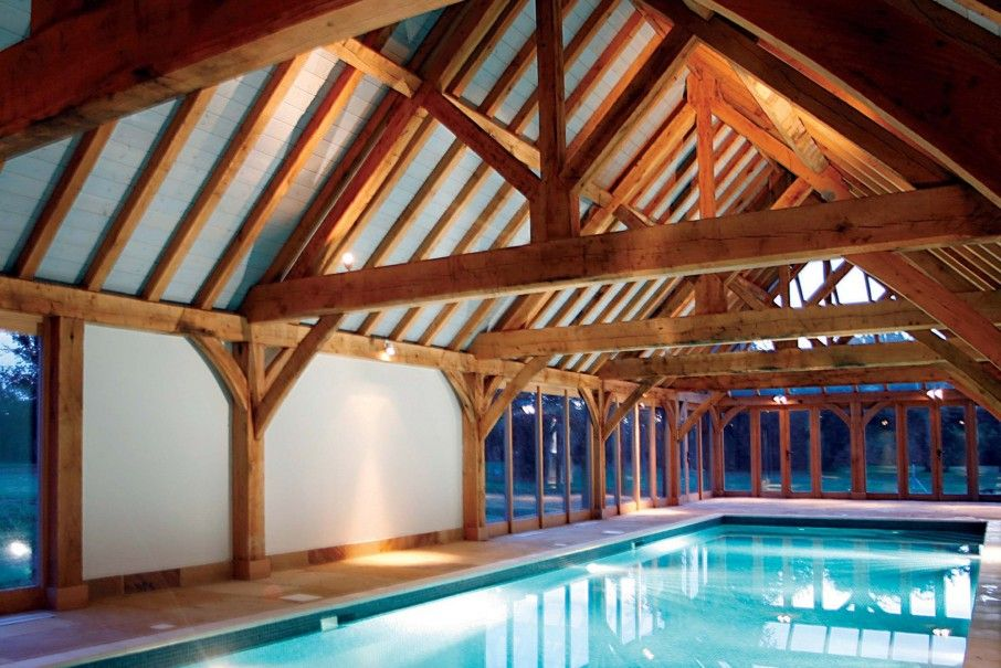 Oak framed buildings oak framed garages oak framed - Houses in england with swimming pools ...