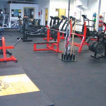 rubberlock floor tiles all sizes per sf  gym flooring