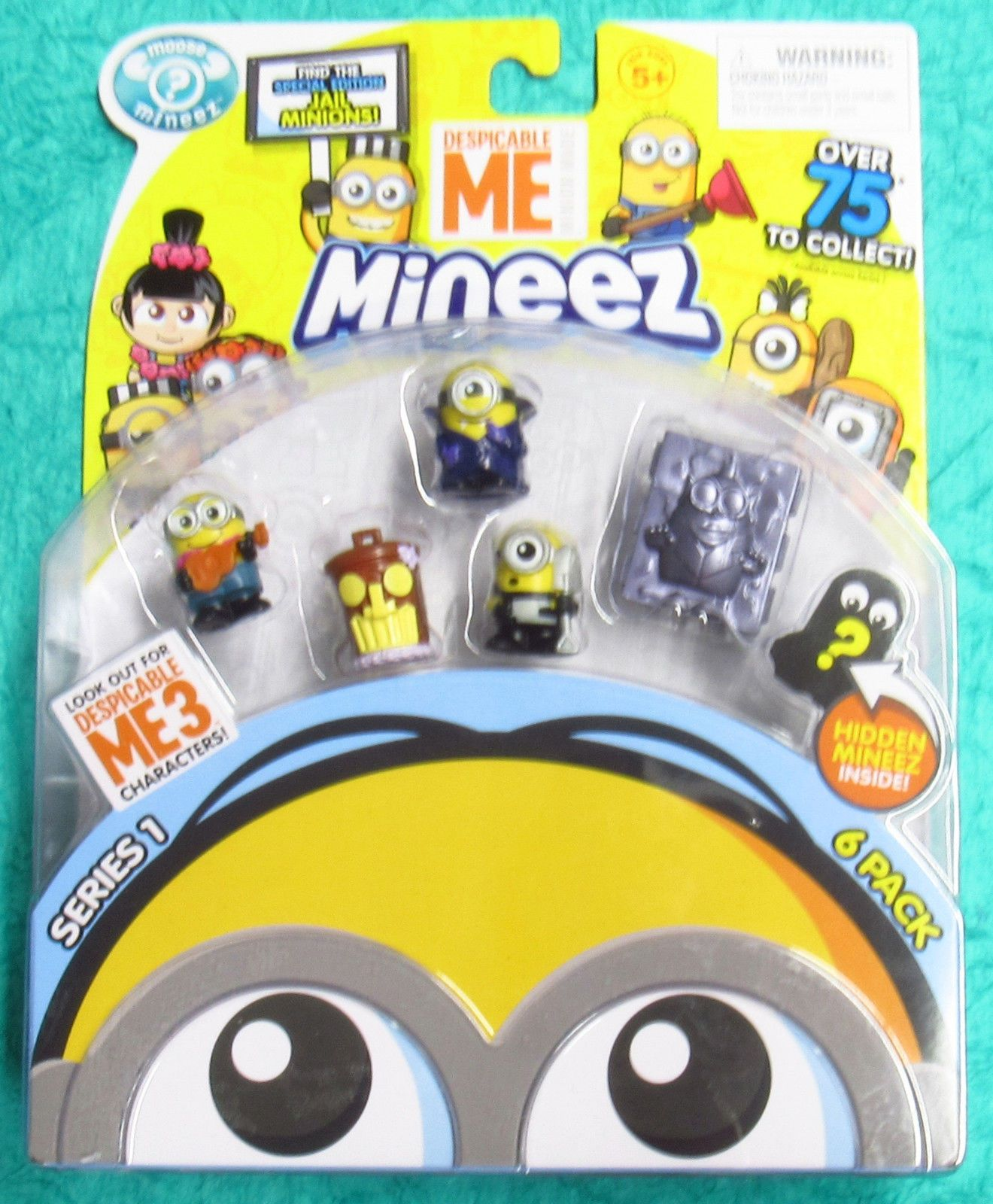 5 x Mineez Series 1 Despicable Me Surprise Pack Blind Box Collectible Kids Toy