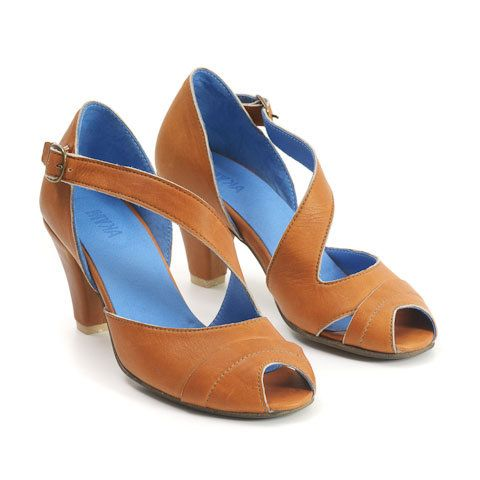 Leather camel sandals High heels sandals by MYKAshop on Etsy, $162.50