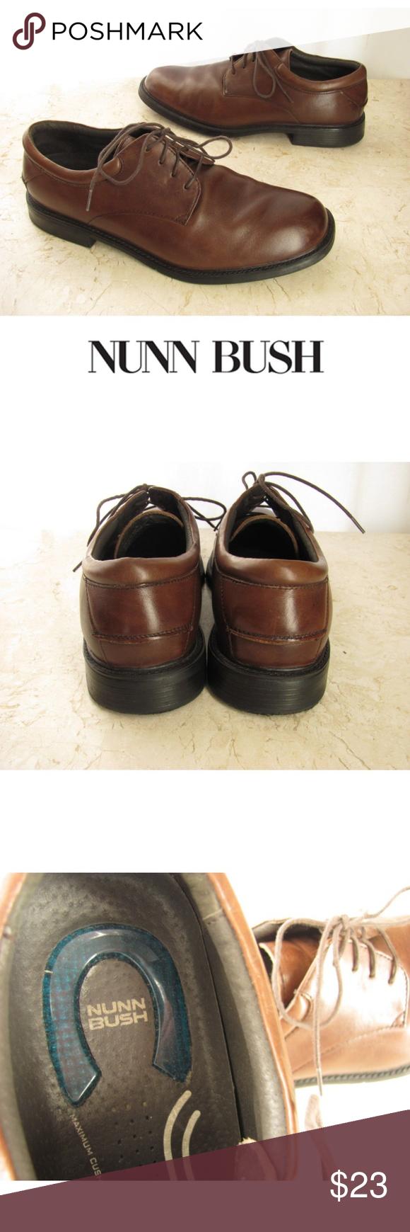 1372a7655f9b6b Nunn Bush Mens 10 M Brown Oxford Shoes Comfortable Nunn Bush mens 10 M shoes.  These Nunn Bush Comfort Gel oxford shoes will have your feet feeling happy  all ...