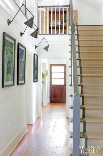 Merveilleux Alex Smith Garden Design | Atlanta Homes U0026 Lifestyles Great Natural Sisal Stair  Runner!