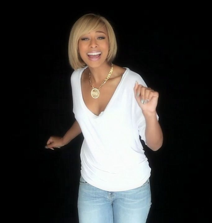 This is why I had to cut my hair! Keri Hilson in pretty girl rock ...