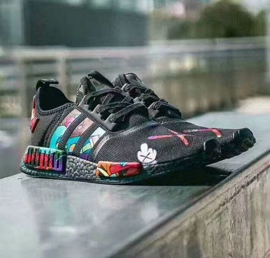 the best attitude 16657 e735f Free Shipping Only 69  Adidas NMD R1 x Kaws Mans Sport Shoes EUR 40-45  Black Multicolors