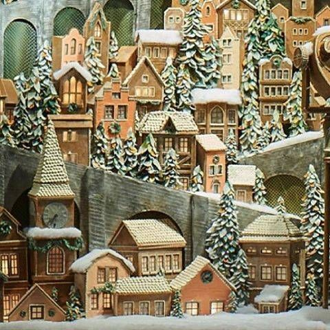 the best holiday windows we\u0027ve seen so far Famous interior - christmas town decorations