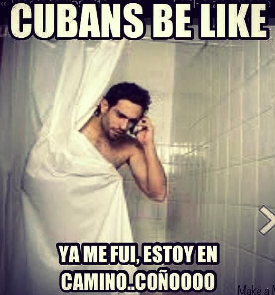 b5764a91a030352a654775e033cf23b5 cuban time! so not me p spanish humor pinterest spanish