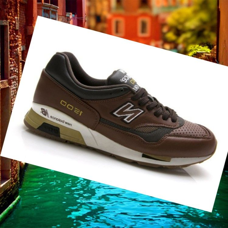 NB 1500 leather mens shoes white Brown Gold which is affected due to the structure of the skin of bestellen shoes New Balance 1500 and also comes to an end the actual graphics style soda.