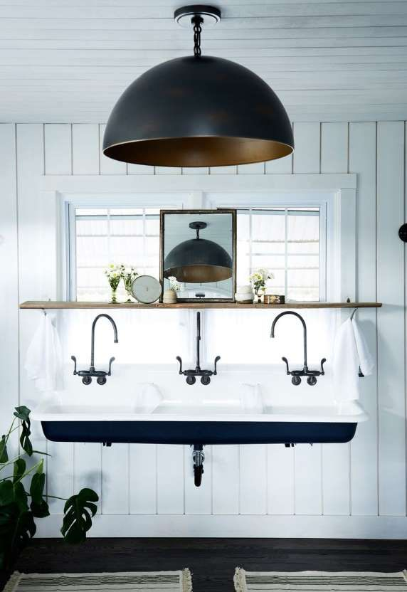 28 Ways to Give Your Bathroom a Facelift With Less Than $100 #leannefordinteriors