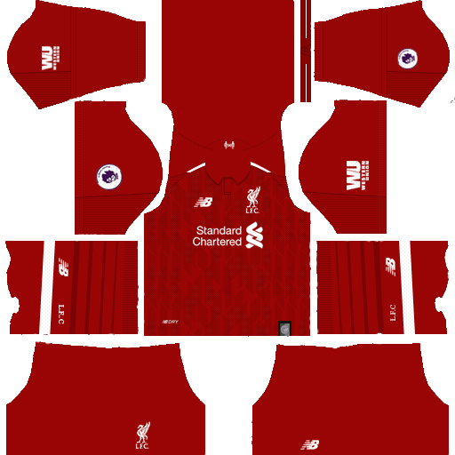 Dream League Soccer Kits Liverpool 2018/2019 Season 512x512 URL