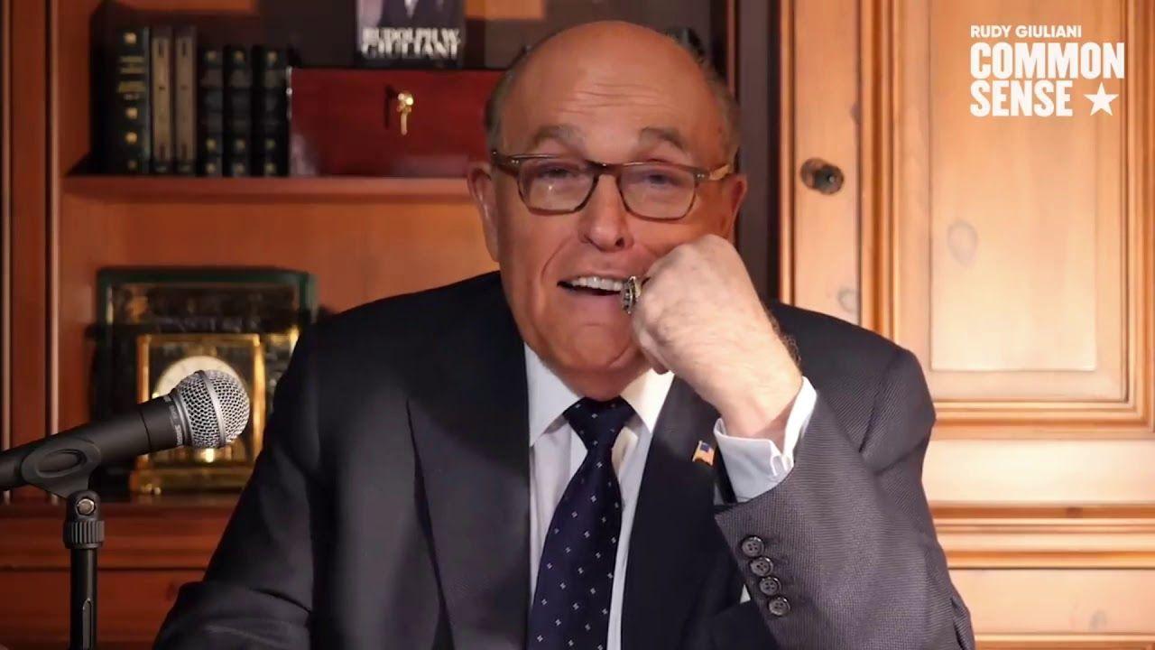 Rudy Part 3 Common Sense Following Right Along Youtube Rudy Giuliani Youtube Go Fund Me