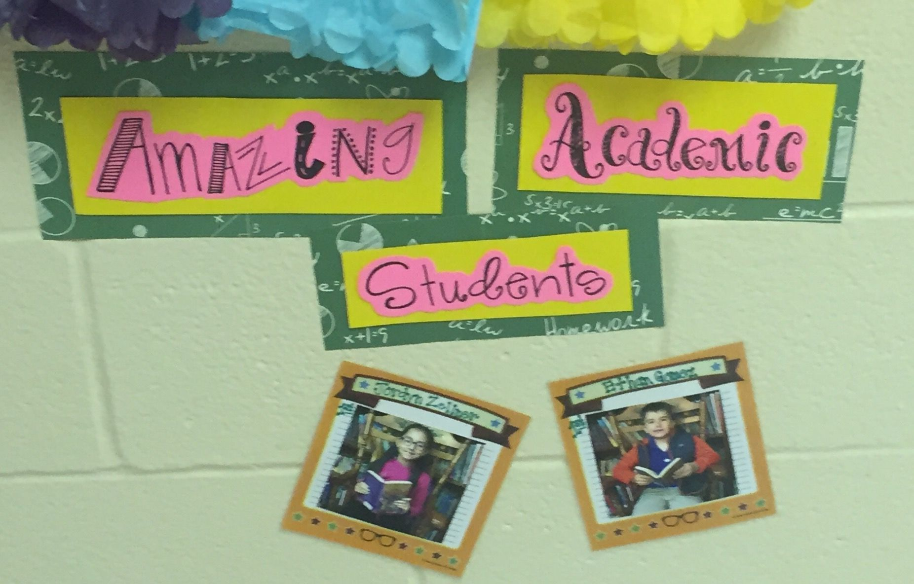 All A Honor Roll Bulletin Board Honor Roll