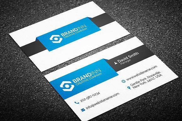 Modern Business Card Template. Creative Business Card Templates ...