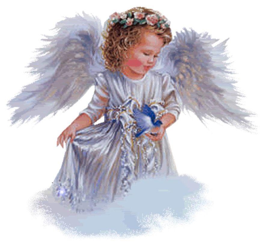 Большое, анимация ангела для презентации
