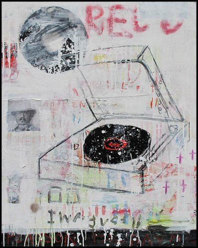 Troy Henriksen - Oeuvres - Troy Henriksen - Platine - 2014 - Galerie W - Galerie d'art contemporain Paris.      ♥ by #GalerieW 2014