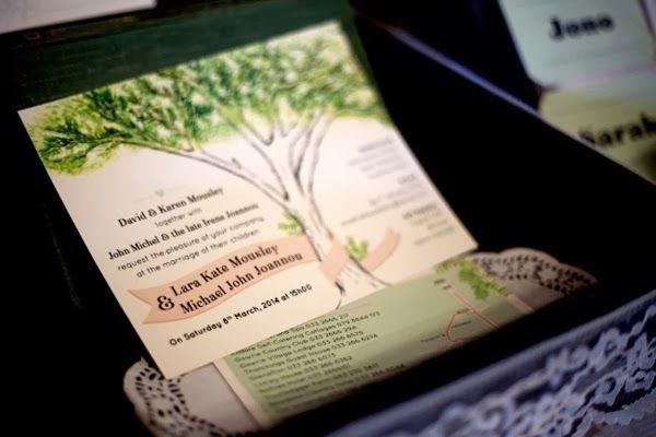 Alternative Wedding Fair - custom wedding stationery