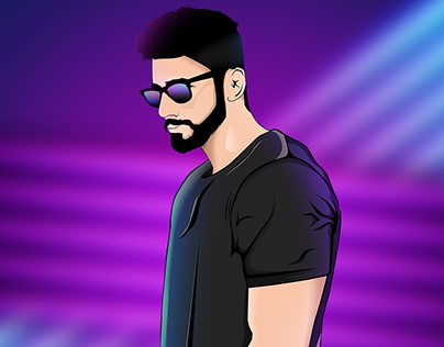 """Check out new work on my Behance portfolio """"neon Vector"""