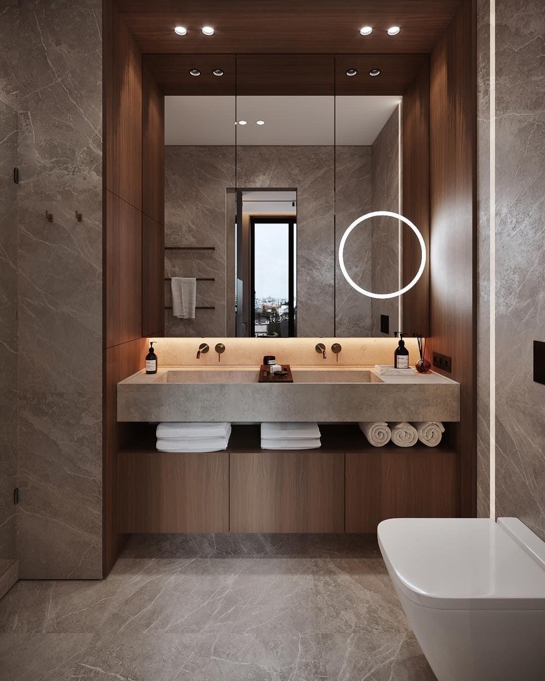 Minimal Interior Design Inspiration In 2020 Restroom Design