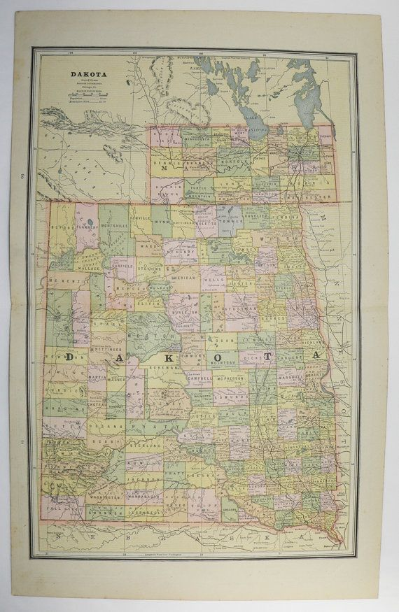 South Dakota Map North Dakota Map 1887 Vintage Map of Dakota ... on switzerland minnesota map, deuel county minnesota map, norway minnesota map, webster minnesota map, illinois minnesota map, fargo minnesota map, campbell county minnesota map, north dakota city map, billings minnesota map, north dakota minnesota map, red river valley minnesota map, dakota county mn city map, south dakota lake vermilion, milwaukee minnesota map, guatemala minnesota map, south dakota home, state minnesota map, chicago minnesota map, dakota minnesota and eastern railroad map, lake county minnesota map,