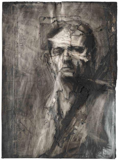 Frank Auerbach - Self Portrait 1958