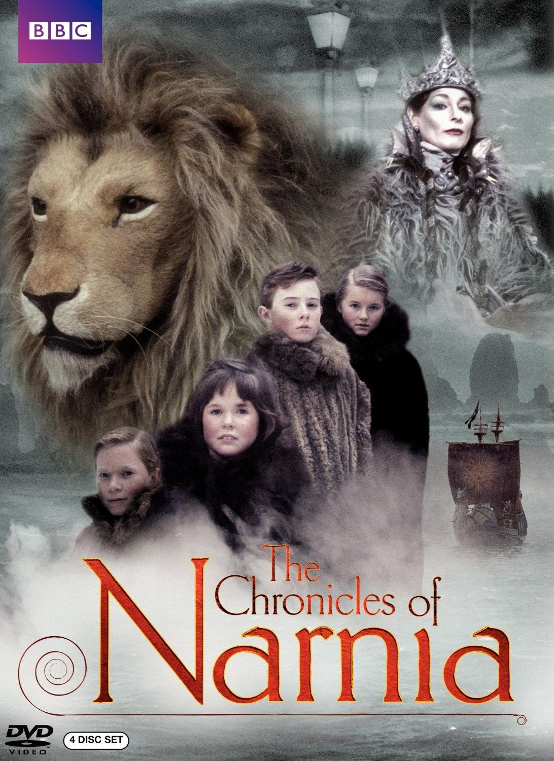 Chronicles of Narnia 4-Disc Set Only $7.90! (reg. $34.98)