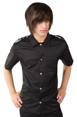 Army Shirt Denim Black (M) | Shirts, Tops and Army shirts
