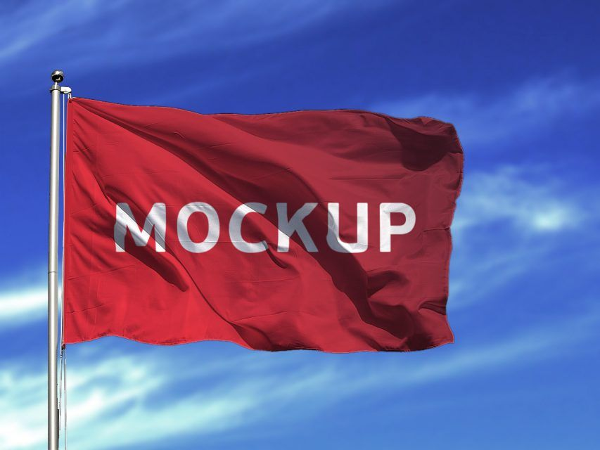 free flag mockup psd downloadmockup com free photoshop mockup