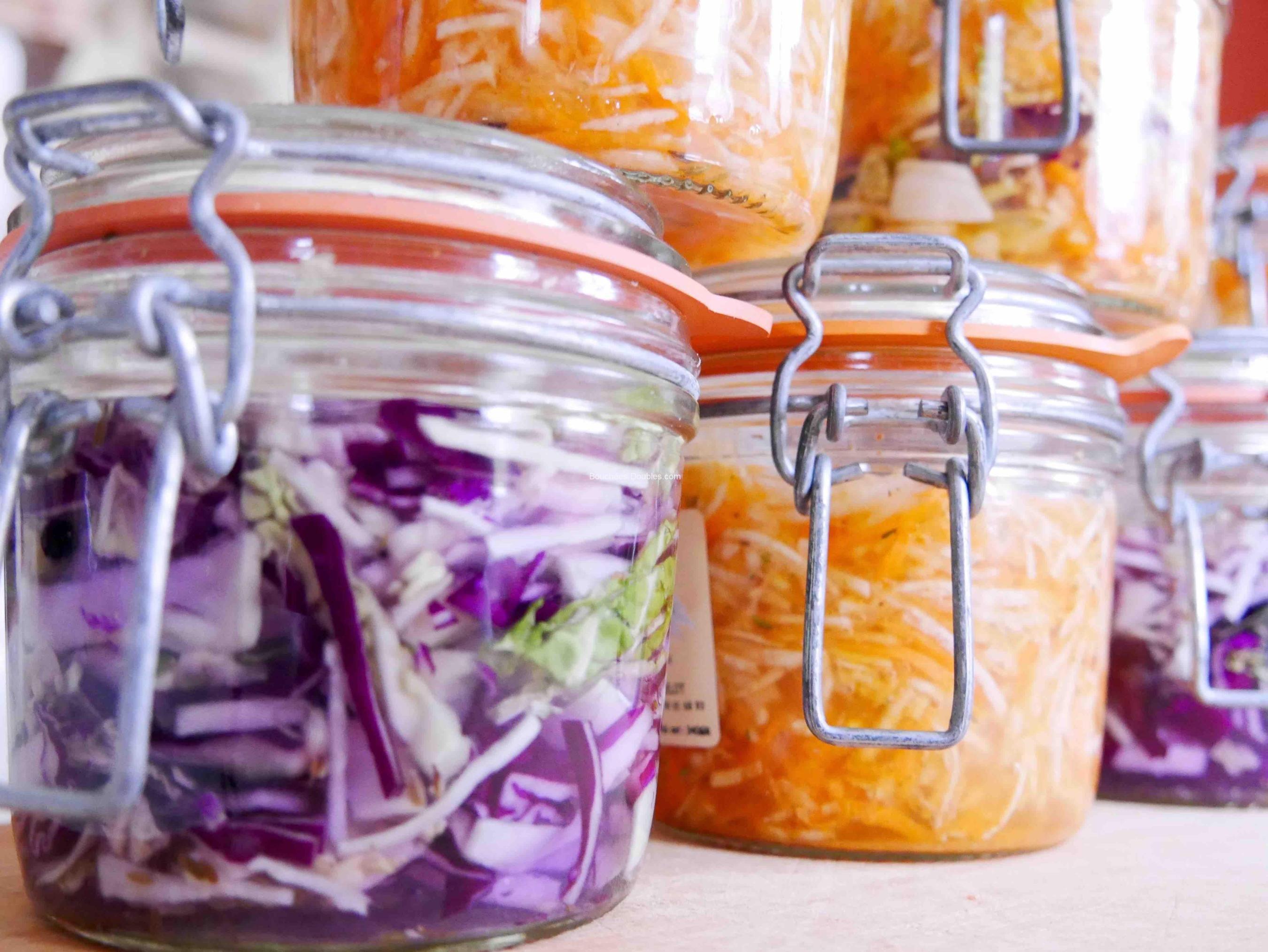 bocaux de lacto fermentation cuisine pinterest l gumes alimentation et choux. Black Bedroom Furniture Sets. Home Design Ideas