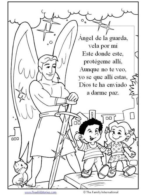 paginas para pintar niños 3 | Воскресная школа - MISC | Pinterest ...