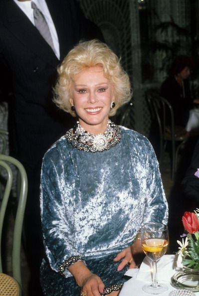 Actress Ava Gabor Poses For A Portrait In C1985 In Los Angeles California