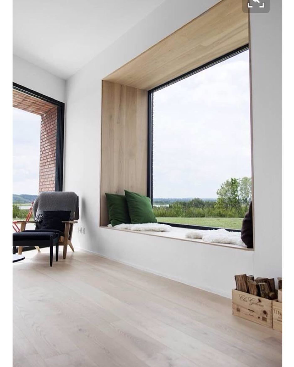 Who Wouldn't Love This Picture Framed Window With Seating